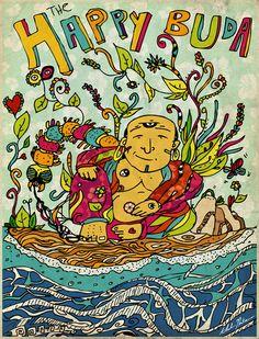 The Happy Buda