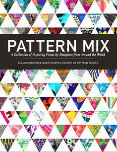 "patternprints journal: SOME OF MY PATTERNS INTO ""PATTERN MIX"" BOOK"