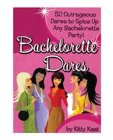 """You'll remember this girls' night out for the rest of your life! There are 52 wild and crazy cards for the bar, dance club, strip club, and sex shop. With such dares as """"order a drink with a lewd name, such as horny girl scout."""" Sure to be a blast no matter where you go!  http://www.sexydeesadultdepot.com/bachelorette-dares.html"""