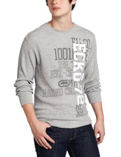 ecko unltd. Men's Long Sleeve Vertical 72 Thermal « Clothing Impulse