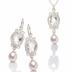 www.ORRO.co.uk - Brigitte Adolph - Silver & Pearl Pendant Necklace - ORRO Contemporary Jewellery Glasgow