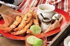 Smoky Paprika & Garlic prawns with aioli