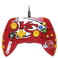 Xbox 360 NFL Kansas City Chiefs Controller