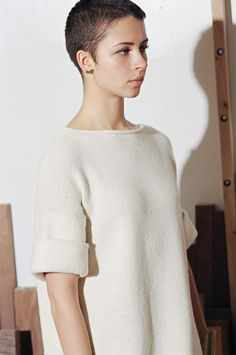 Lauren Manoogian AW14 Dovetail Pullover, Photos by Dan McMahon