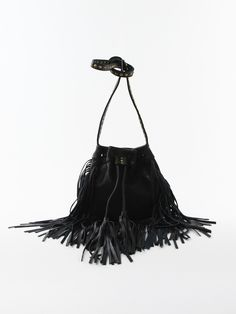 Studded Fringe Cross-body Bag