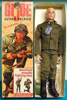 Hasbro introduced the G.I. Joe Action Soldier on Feb. 2, 1964. #vintage #toys #collectibles