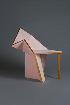 fullserving:Chair from the The Oru Series By Aljoud Lootah