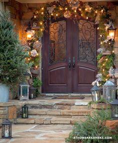 pretty doors, entrance