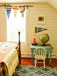 10 Camp Themed Bedrooms is part of Camping bedroom - Does your little one love to explore! Make every day an adventure with these 10 Camp Theme Bedrooms! Bedroom Themes, Bedroom Decor, Bedroom Ideas, Camping Bedroom, Boys Camping Room, Vintage Cabin, Rustic Vintage Decor, Camping Theme, Camping Outdoors