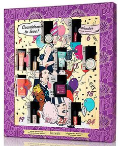 OH MY GOSH. A Benefit Makeup Advent Calendar for Christmas.... WANT SO BAD. May have to ask for it for my birthday!!