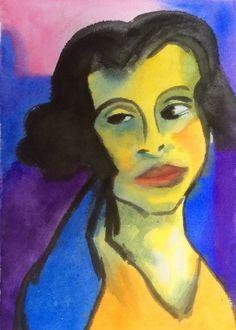 Emil Nolde - Portrait de Femme