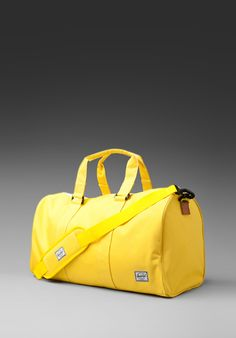 HERSCHEL SUPPLY CO. Ravine Duffle Bag in Canary/Canary