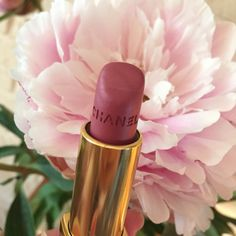 My 2 fav things; Chanel lipstick and pink peonies
