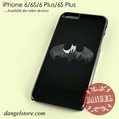 Batman Logo Black&White Phone case for iPhone 6/6s/6 Plus/6S plus