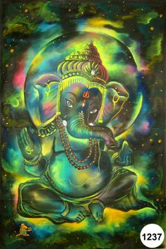 If you want to fulfil all desires, amass wealth and remove doshas, choose 32 forms of Ganesha Homam. The God of Wisdom is sure to protect and remove obstacles. Shiva Hindu, Shiva Art, Ganesha Art, Ganesha Tattoo, Hindu Deities, Krishna Art, Hindu Art, Jai Ganesh, Shree Ganesh