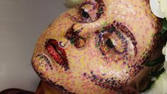 pointillism makeup - Google Search