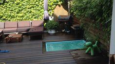 Small garden the Hague. Stadstuin met bubbelbad Zeeheldenkwartier den haag