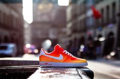 #Nike Air Force 1 AC BR QS Atomic Mango #sneakers