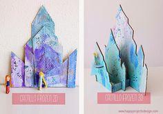 Let it go!... DIY Castillo Frozen | Aprender manualidades es facilisimo.com