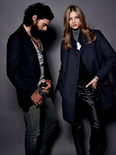Seventies Set – Creative Director Maya Junger of German label Set once again evokes the seventies for the brand's fall 2012 collection. The new lookbook images star Russian beauty Anna Selezneva posing alongside Greek male model Paraskevas. A boyish wardrobe of jackets and full-length pants is complemented by baroque touches, patchwork and hand-knit work in …