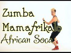 Zumba Dance Workout - 30 Minutes Zumba Dance Class African Song Mamafrikalo…