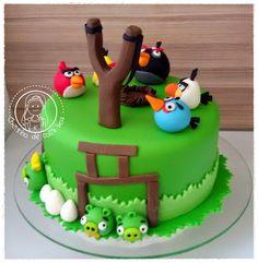 CHEIRINHO DE COISA BOA - Bolos decorados em Campinas SP: Bolo Angry Birds
