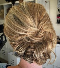 Loose Messy Updo