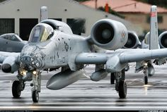 Fairchild A-10C Thunderbolt II, Get some of That; striking fear over our enemies everywhere.