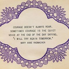 I live this courage quote! What's a favourite quote of yours? I'd love to know! @drewbarrymore