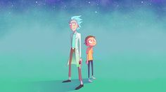 Rick and Morty by Choppywings [2560x1440] #wallpaper