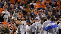 MLB division, postseason predictions for 2018  ||  The quest to claim the 2018 World Series championship begins Thursday on Opening Day. The Houston Astros were the last team standing in 2017, and many are predicting a repeat title run, but every season always... https://www.mlb.com/news/mlb-division-postseason-predictions-for-2018/c-269639762?utm_campaign=crowdfire&utm_content=crowdfire&utm_medium=social&utm_source=pinterest #JerseyBarn #Mlb #mlbyankeessecond #MLBStyle #mlbcafetokyo…