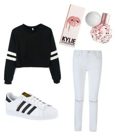 """""""Girly night"""" by rubienriquez-1 ❤ liked on Polyvore featuring Rebecca Minkoff and adidas"""