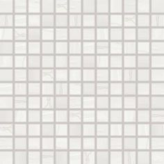 Mozaika Rako Boa bílá 30x30 cm, mat, rektifikovaná
