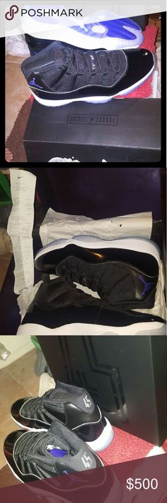 Jordan 11 Retro Space Jams Jordan 11 Retro Space Jams....Size 15... Brand New, Never Worn Jordan Shoes Athletic Shoes