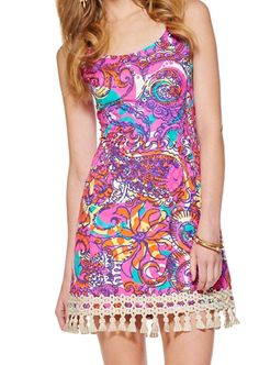 Lilly Pulitzer Eaton Shift Dress in Sea and Be Seen