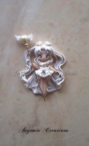 SAILOR COSMOS, SAILOR MOON, POLYMER CLAY, MASA FLEXIBLE, PASTA FRANCESA, COLD PORCELAIN, CERNIT, PORCELANA FRIA, PASTA FLEXIBLE, BISCUIT, FIMO