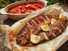 Fish Recipes, Low Carb Recipes, Cooking Recipes, Jacque Pepin, Hungarian Recipes, Sausage, Food And Drink, Appetizers, Sweets