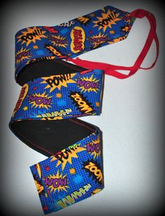 Super Words Crossfit Wrist Wraps by superphine on Etsy, $15.00