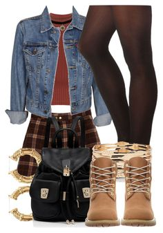"""""""9 6 16"""" by miizz-starburst ❤ liked on Polyvore featuring WearAll, Charlotte Russe, Levi's, Forever 21, Forever New and Timberland"""