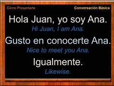 Spanish Vocabulary List, Spanish Practice, Learn To Speak Spanish, Spanish Language Learning, English Vocabulary Words, Teaching Spanish, Spanish Phrases, Spanish Words, English Phrases