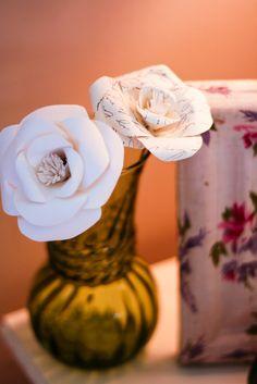 elm street life: DIY: Paper roses