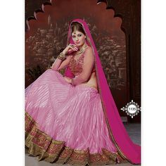 You can be assured to make a great style statement with this rose pink dori silk lehenga. This lehenga is enhanced with heavy embroidery work. Buy this latest designer lehenga choli online .Paired with matching choli and net dupatta Lehenga Choli Wedding, Lehenga Style, Pink Lehenga, Indian Bridal Lehenga, Net Lehenga, Lehenga Blouse, Indian Bridal Wear, Sari, Ghagra Choli