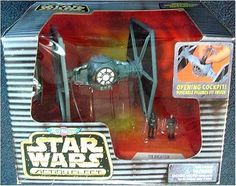 Star Wars Action Fleet Tie Fighter Star Wars http://www.amazon.com/dp/B001BXVOKA/ref=cm_sw_r_pi_dp_Q2k5wb0VTH2P3