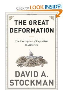 """David Stockman provides a catalogue of corrupters & defenders of sound money, fiscal rectitude, & free markets. The former includes FDR, who fathered crony capitalism; Richard Nixon, who destroyed national financial discipline and the Bretton Woods gold-backed dollar; Fed chairmen Greenspan and Bernanke, who fostered our present scourge of bubble finance and addiction, & Barack Obama, who revived failed Keynesian """"borrow and spend"""" policies that have driven the national debt to perilous…"""
