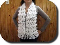 Bufanda en tejido crochet