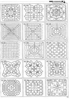 Free Crochet Motif Charts                                                                                                                                                                                 More