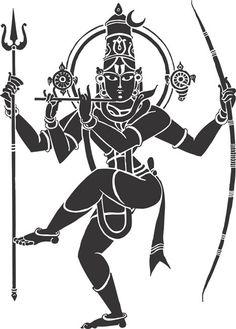 indian_hindu_god_lord_siva_natarajar_krishna_vishnu_kanna_thanjavur_arts_drawing_vector_cliparts.jpg (466×650)
