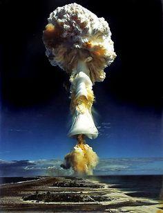 French Atomic test