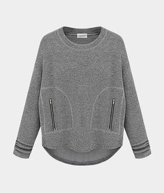 Grey sweatshirt // Choies