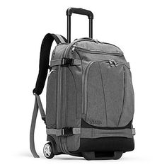 eBags TLS Mother Lode Rolling Weekender 22 Inch Travel Backpack with Wheels - Carry-On - (Heathered Graphite) Survival Project, Survival Kit, Survival School, Survival Backpack, Survival Quotes, Wilderness Survival, Survival Skills, Best Luggage, Carry On Luggage